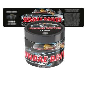 Sundae Driver Jar Labels