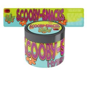 Scooby Snacks Glass Jar Labels