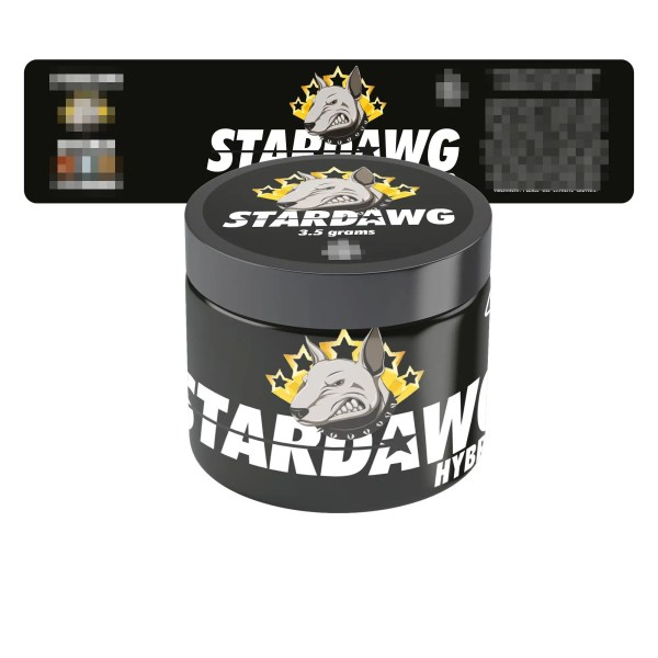 Stardawg Jar Labels