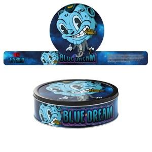 Blue Dream T2 Pressitin Labels
