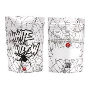 White Widow Printed Mylar Bags