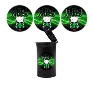 Green Crack Slap Stickers