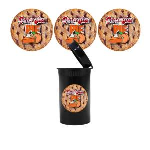 Georgia Pie Slap Stickers