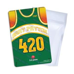 Gary Payton Mylar Bag Labels