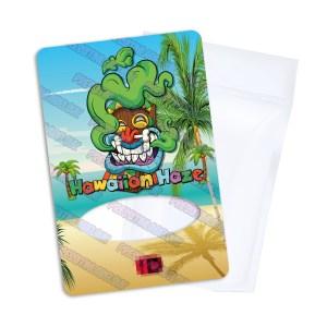 Hawaiian Haze Mylar Bag Labels