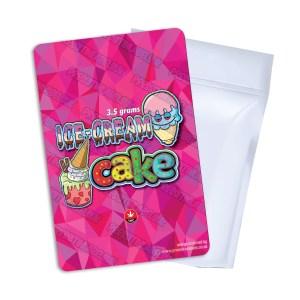Ice Cream Cake T2 Mylar Bag Labels