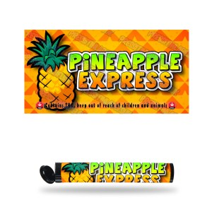Pineapple Express T2 Pre Roll Labels