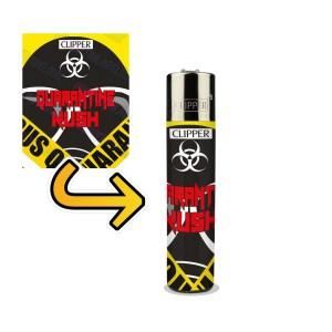 Quarantine Kush Lighter Wraps
