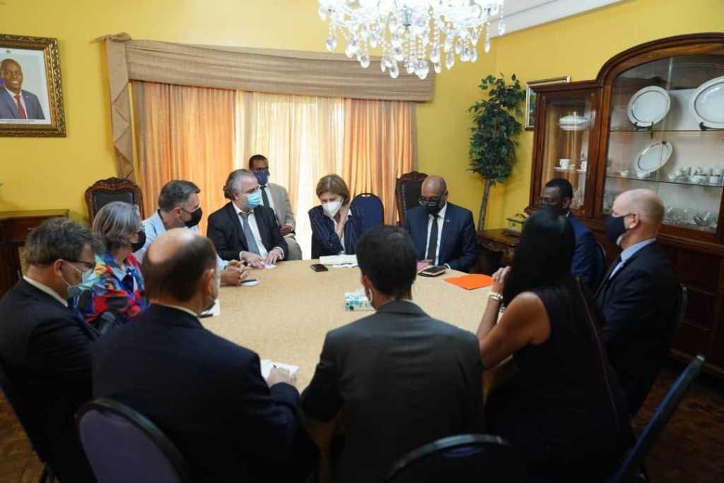 PM Ariel Henry et le Core group