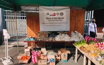 The Mesa ni San Martin: Letran's Community Pantry