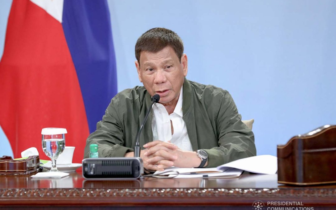 Duterte thinks face shields can be used for '10, 15 years'