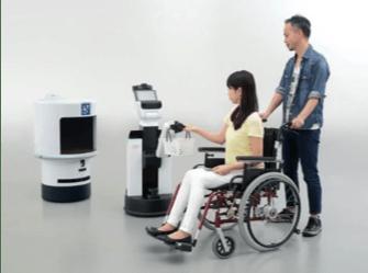 los robots toyota ayudan a asistir juegos olímpicos tokio