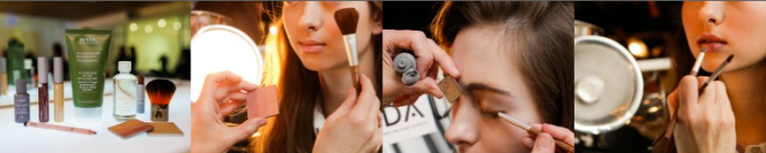 makeup tutorial. novis. new york fashion week. a veda products. makeup