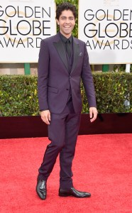 Adrian Grenier was one of the best dressed men at the 2015 Golden Globes.