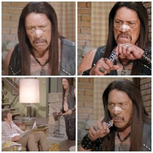 Danny Trejo starred in a Brady Bunch-themed Super Bowl spot.