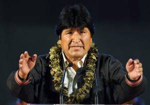 On January 22, 2006 Evo Morales became the first indigenous president of Bolivia.