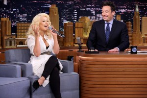 Christina Aguilera's impression of Britney Spears is spot on