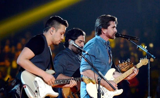 juanes performs at the 57th annual grammys