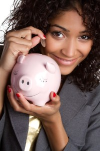Saving money is an important part of budgeting.