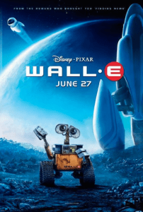 Disney's Wall E is one of the cutest robot films ever made.