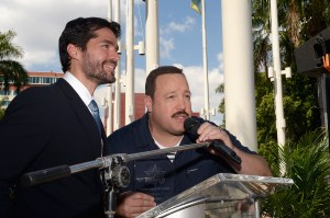 Eduardo Verastegui and Kevin James star in Mall Cop 2