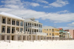 Expensive high end vacation beach homes can be cheaper to rent than a hotel if divided among friends.