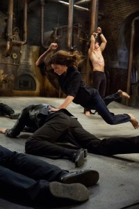Rebecca Ferguson did her own stunts in Mission Impossible - Rogue Nation