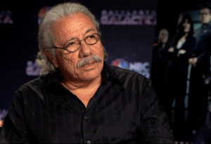 Edward James Olmos is very proud to be one of the most influential Latinos in Hollywood.