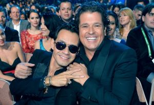 Marc Anthony and Carlos Vives are great friends.