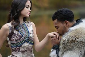 """Natti Natasha and Don Omar have collaborated on two songs, """"Dutty Love"""" and """"Perdido en tus Ojos"""". (Video Still)"""