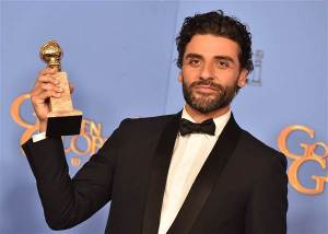 Guatemalan star Oscar Isaac won a Golden Globe at the 2016 awards show.
