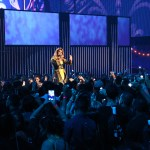 Chiquis Rivera performed for the first time at Premios Juventud 2014.