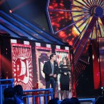 Ana Brenda presented awards at Premios Juventud 2014.