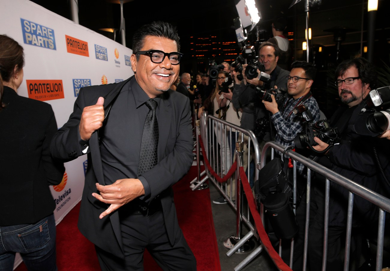 George Lopez took on the role of Fredi Cameron in his latest film Spare Parts.