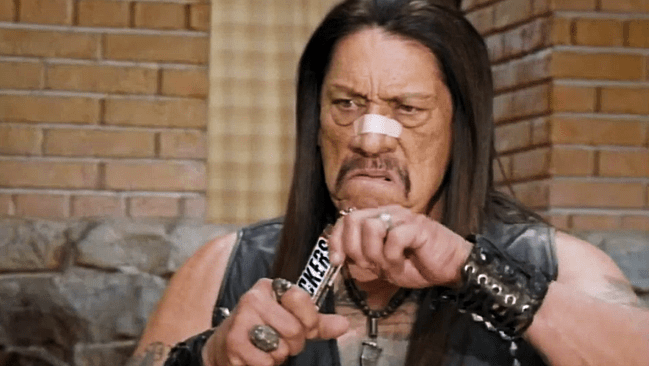 Danny Trejo's Super Bowl ad for snickers was set in a famous Brady Bunch episode.