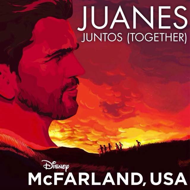 Juanes wrote the song Juntos for the movie McFarland USA.