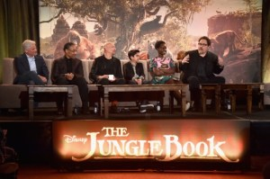 Press Pass Latino attends Los Angeles press conference for The Jungle Book.