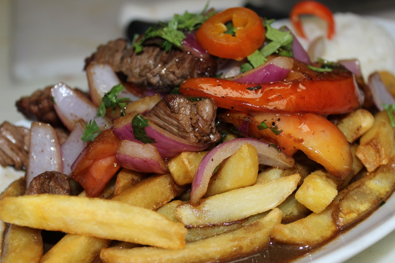 Lomo Saltado is a very popular dish in Peruvian cuisine.