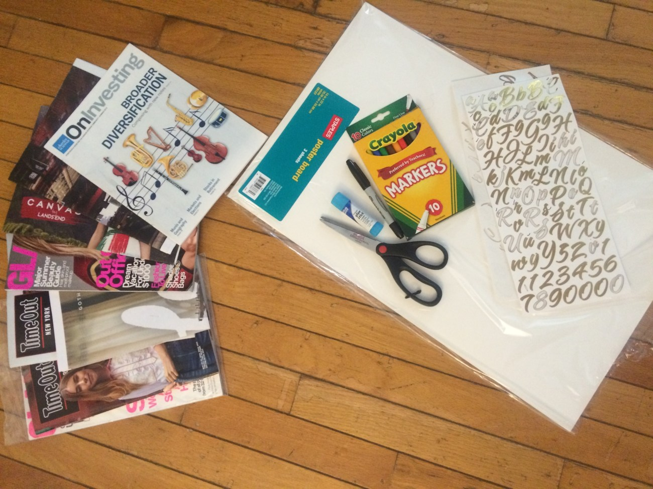 Vision boards can help you envision your future.