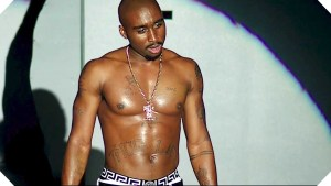 Demetrius Shipp Jr. as Tupac in ALL EYEZ ON ME