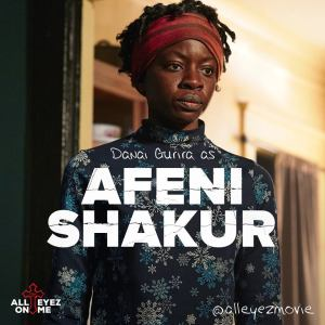 Actress Danai Gurira as Afeni Shakur