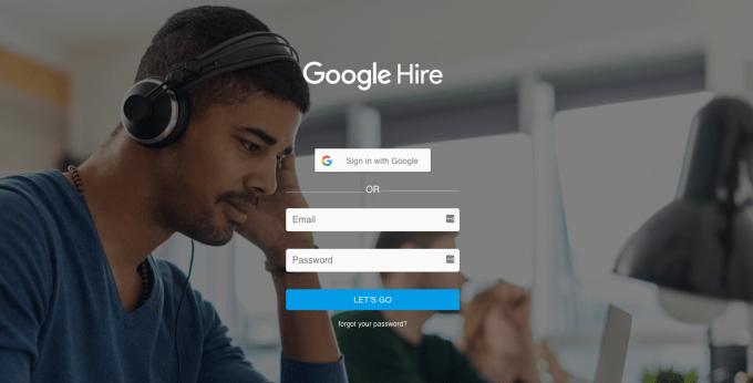 google hireトップ