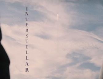 Trailer: Interstellar