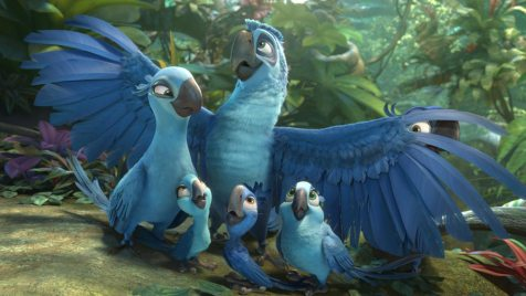 Rio 2 – Dschungelfieber (Animation, Regie: Carlos Saldanha, 03.04.)