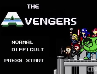 Clip des Tages: The Avengers (8-Bit Version)