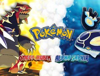 Pokémon Alpha Saphir und Omega Rubin