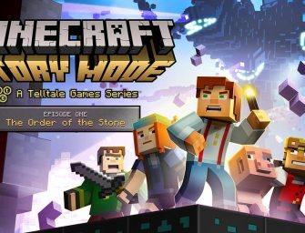 Trailer: Minecraft: Story Mode (Episode 1 – The Order of the Stone)