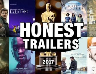 Clip des Tages: Die Oscars 2017 (Honest Trailers)