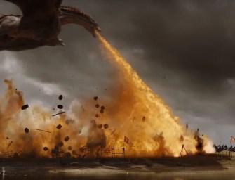 Clip des Tages: Der Kampf mit Feuer, Eis und Drachen in Game of Thrones