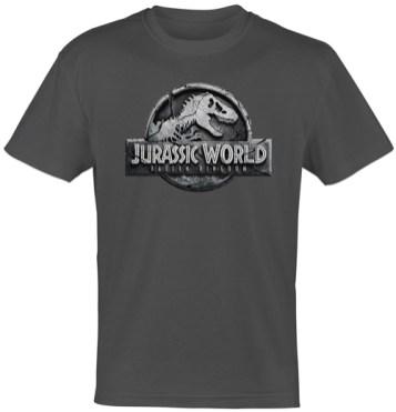 Jurassic-World-Das-gefallene-Königreich-T-shirt-Adult-Grey-(c)-2018-Universal-Pictures